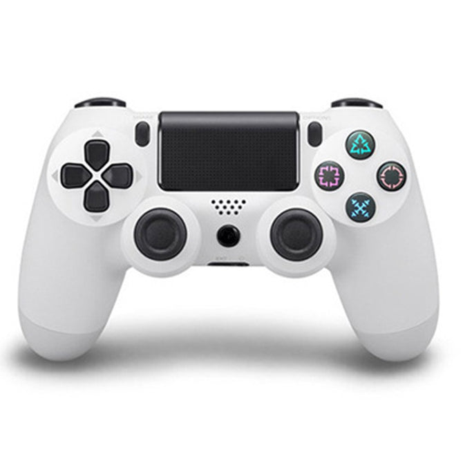 Bluetooth Wireless Game Controller Handle Gamepad, Remote Joystick For PS4, Android, Tablet Came White