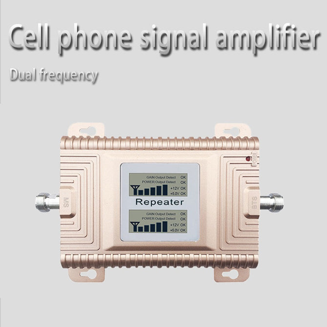 Double Frequency GSM/PCS 900/1900MH Mobile Phone Signal Booster Amplifier Repeater US Plug