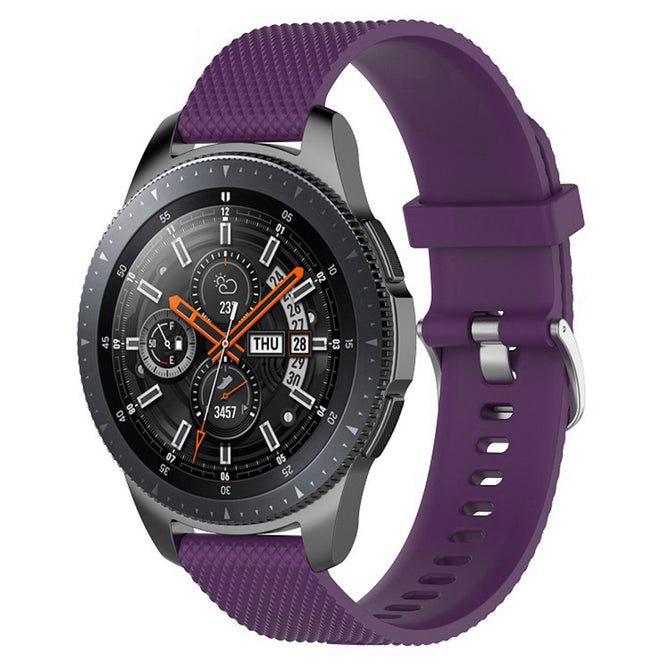 IMOS Replace Smart Watch Silicone Strap For Samsung Galaxy Watch 46mm / SM - R800 / SM - R805 - Purple