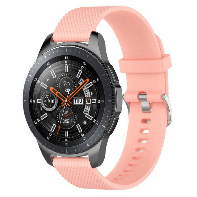 IMOS Replace Smart Watch Silicone Strap For Samsung Galaxy Watch 46mm / SM - R800 / SM - R805 - Pink