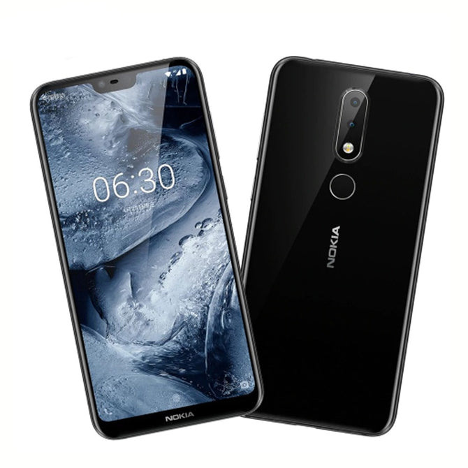 Nokia X6 5.8 Inches Octa-Core Dual SIM Android LTE Smartphone Mobile Phone With 3060mAh Battery, 3 Cameras, Fingerprint Blue