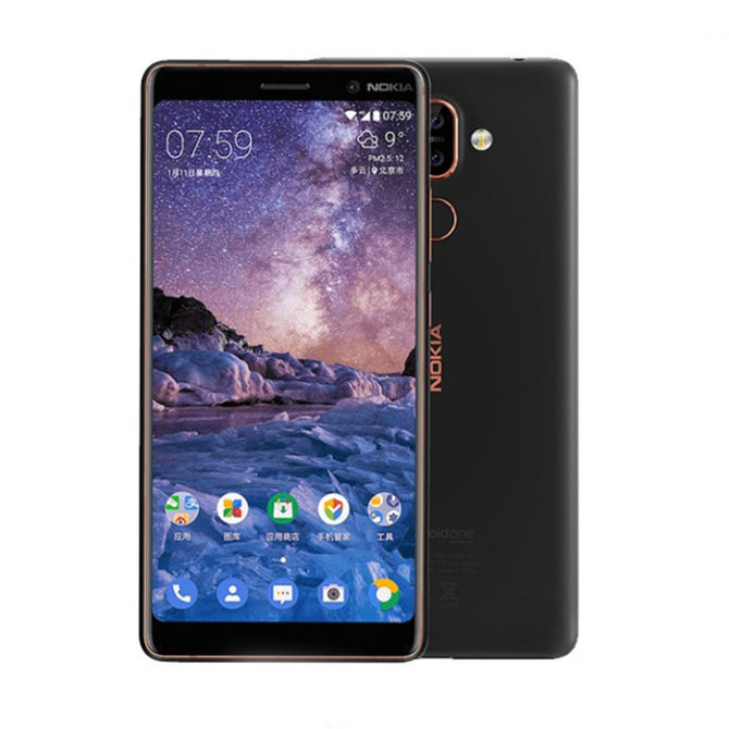 Nokia 7 Plus Android 8 Snapdragon 660 Octa-Core 6.0 Inches 18:9 Screen Mobile Phone With 3800mAh Battery, 6G RAM 64G ROM Black