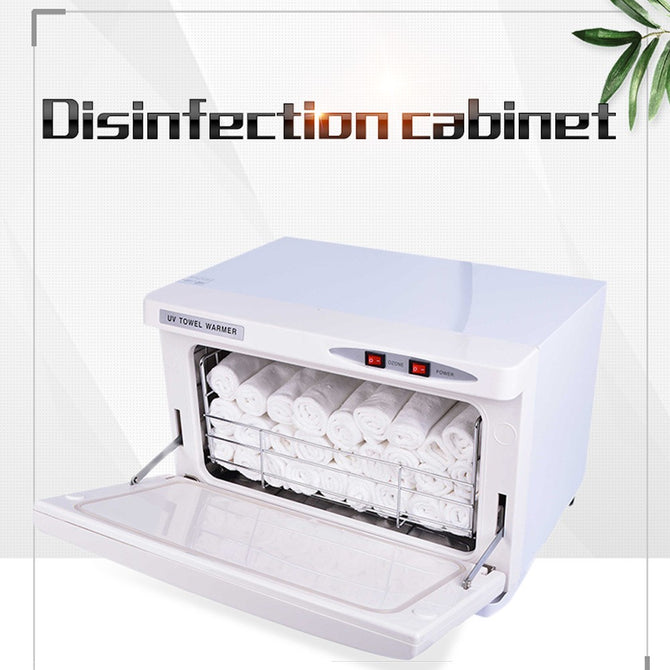 Professional Signal Door UV Sterilizer, Towel Warmer Heater, Ozone Disinfection Cabinet White