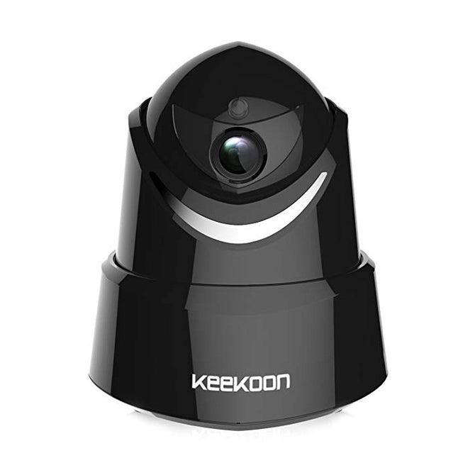 "KEEKOON KK005 1080P Wireless Wi-Fi Home Surveillance Camera, Indoor Security Camera With Pan/Tilt Motion Detection 1/4""/NTSC/US Plug"