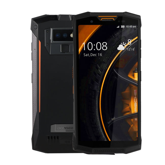 DOOGEE S80 Full Screen IP68 /IP69K/MIL-STD-810G 4G Professional Walkie-Talkie Rugged Phone w/ 6GB RAM, 64GB ROM -Orange
