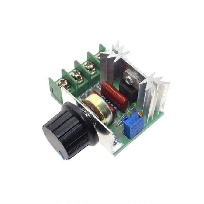 2000W AC 220V SCR Electronic Voltage Regulator Module Speed Control Controller Worldwide Top Sale High Quality  1 Piece