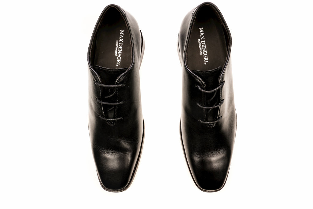 Zapato Lawrence Negro +7Cms