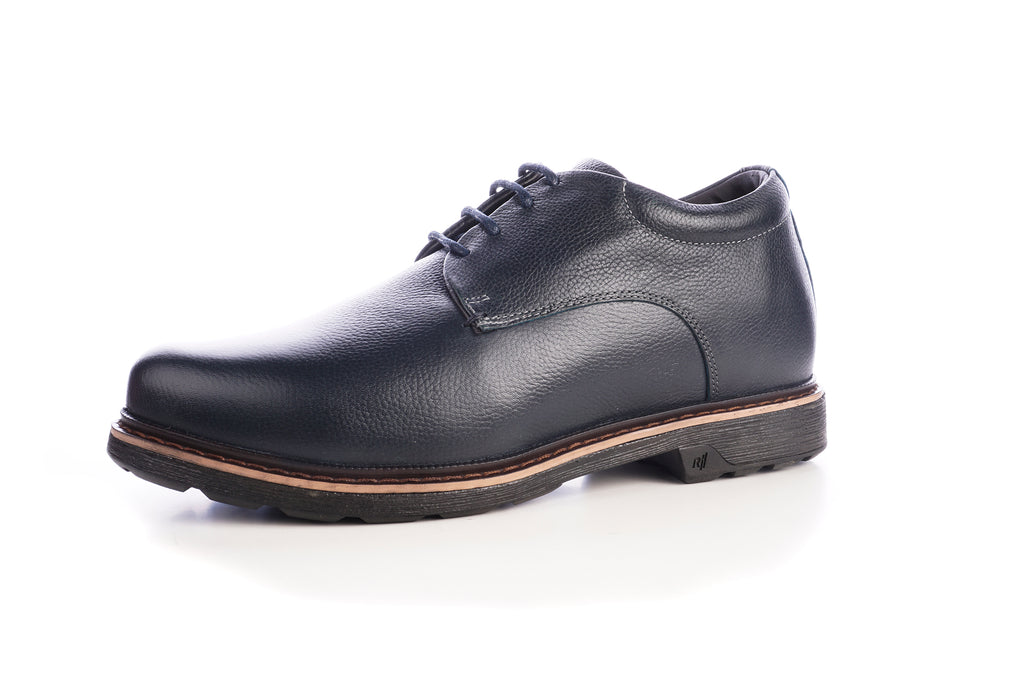 Zapato Wagner Azul +7Cms