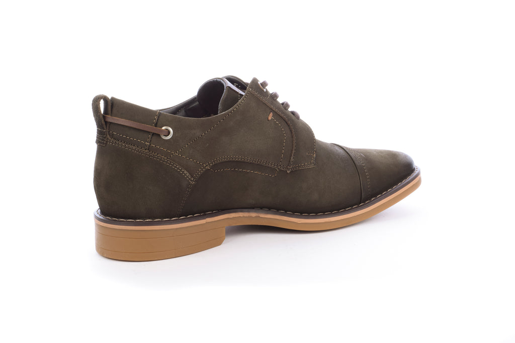 Zapato West Point Oliva +7cms
