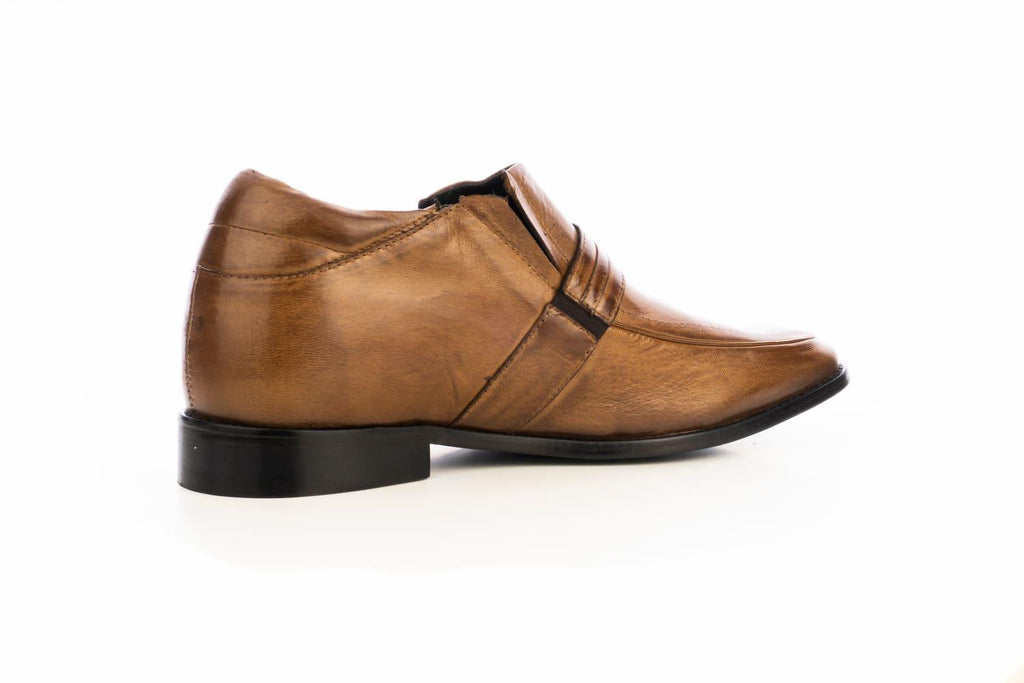 Zapatos Barclay Café +7cms
