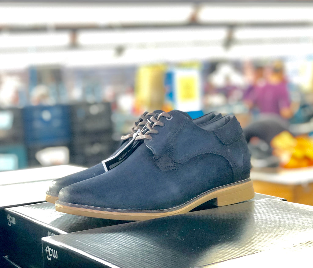 Zapato Brooklyn Azul +7cms