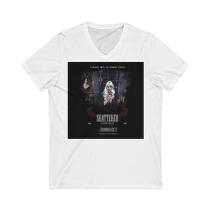 Shattered Fairytales Promo Unisex Jersey Short Sleeve V-Neck Tee