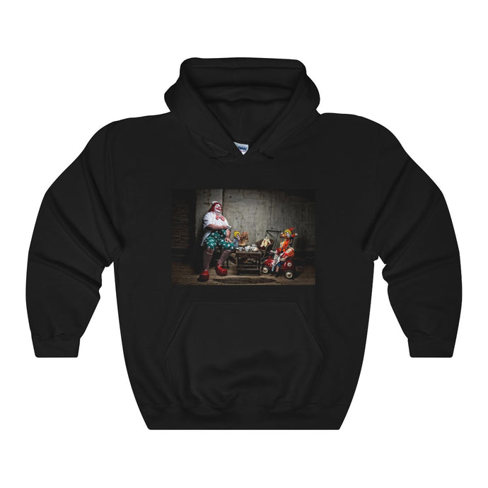 Clown Tea Party Unisex Heavy Blend™ Hooded Sweatshirt