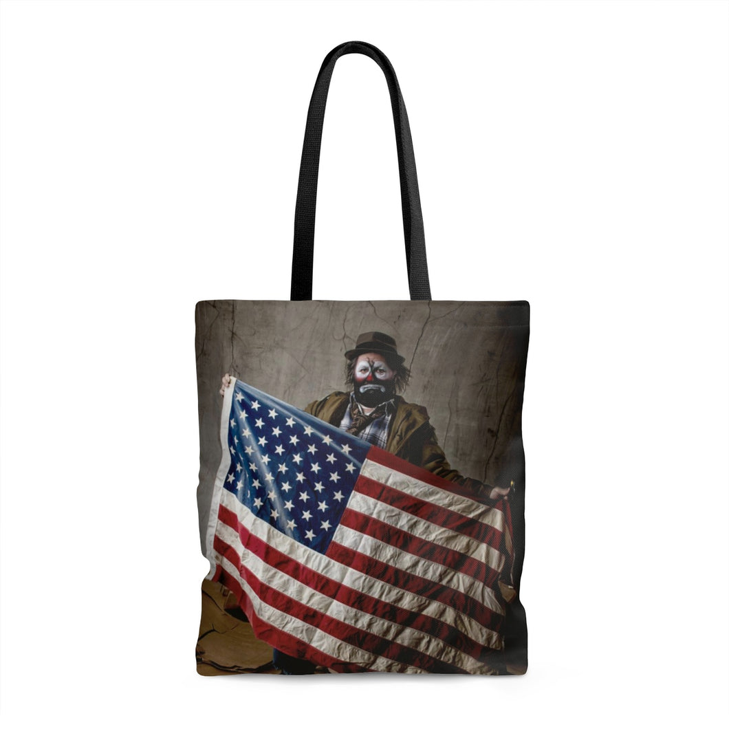American Clown by Koltz Tote Bag