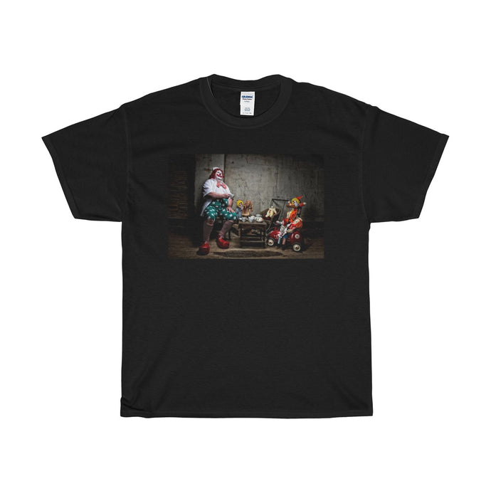 Tea Party Clown by Koltz, T Shirt.