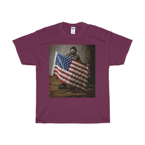 American Clown, Unisex Heavy Cotton Tee