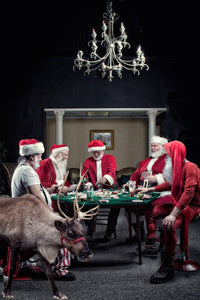 Photographic Print: Poker Game by Shanna Koltz