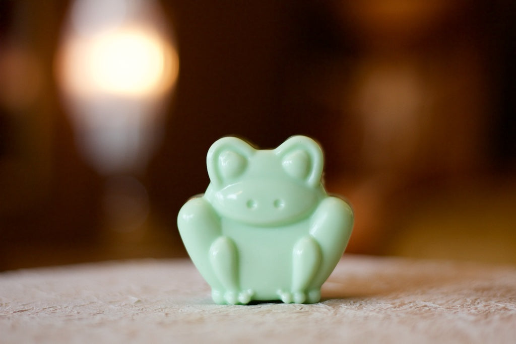 Frog handcrafted Soap