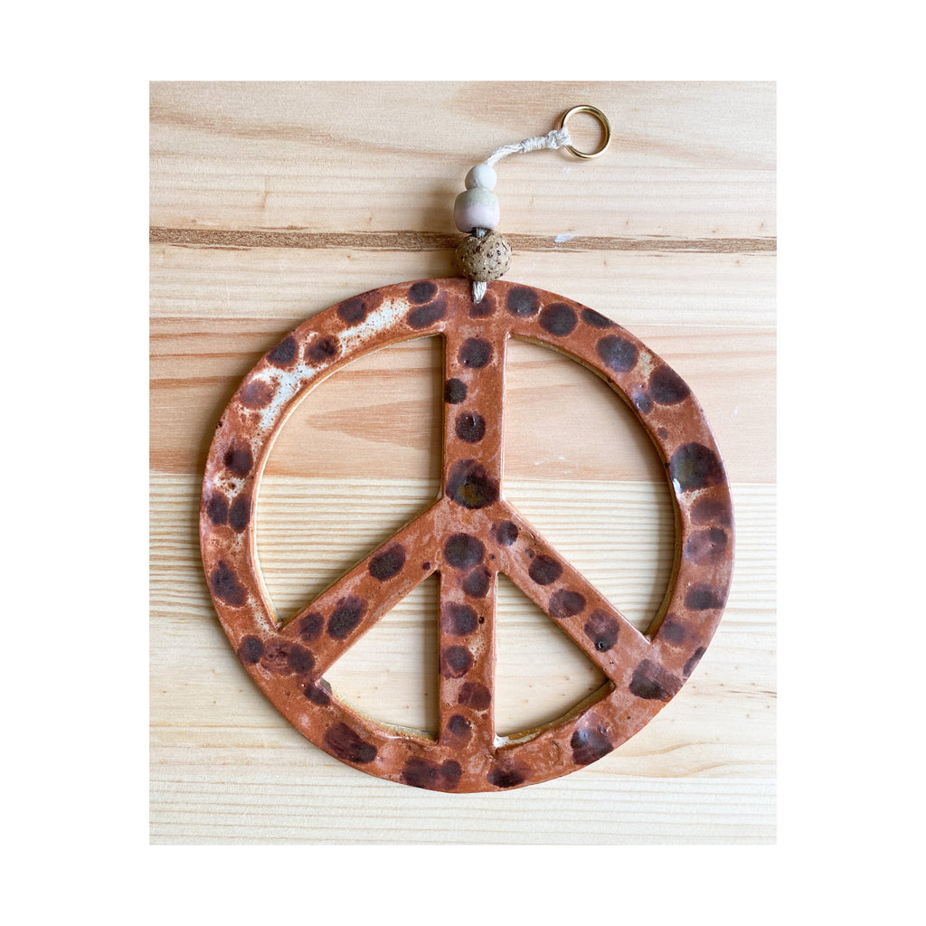 Peace Sign Wall Hanging 1