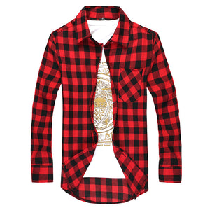Classic Plaid Dress Shirt