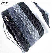 Striped Knitted Beanie