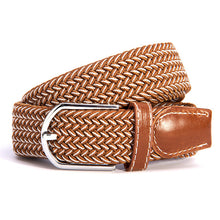 Woven Canvas Stretch Belt