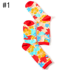 Multi-Color Spring Socks