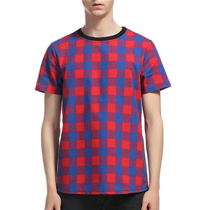 Checked T-shirt
