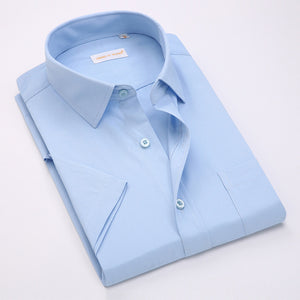 Summer Short Dress Shirt