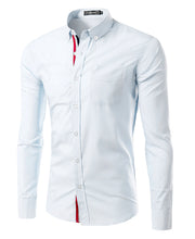 Solid Color Dress Shirt