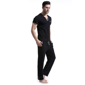 V Neck Night-suite Set
