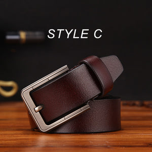 Genuine Leather Strap Belt