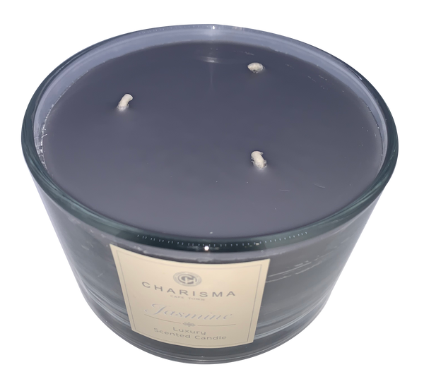 3-Wick Candle - Jasmine Grey