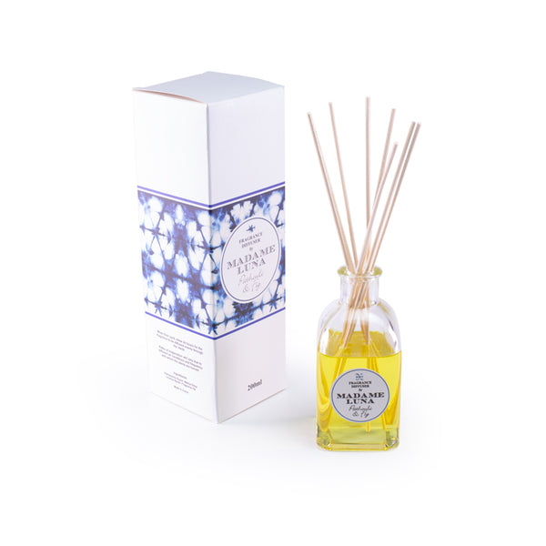 Tie Dye Reed Diffuser - Fig & Patchouli