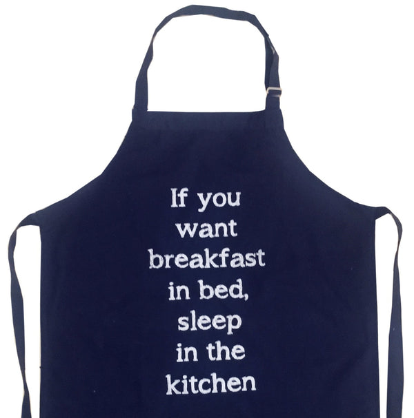 Apron - Breakfast Quote
