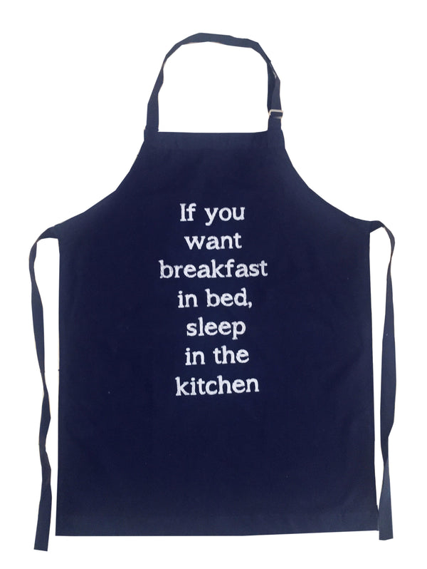 Apron breakfast quote