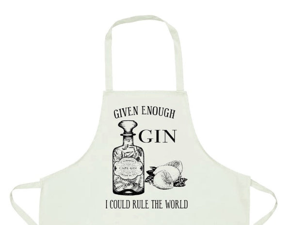 Apron - Given Enough Gin