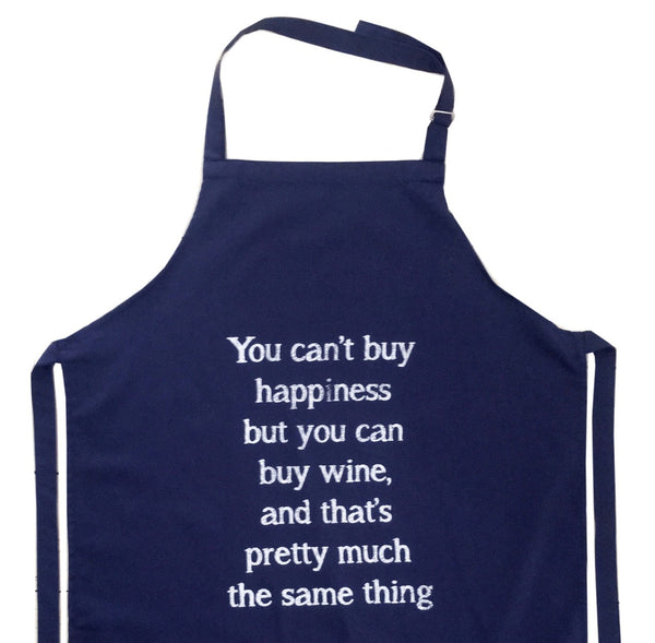 Apron - Wine Quote