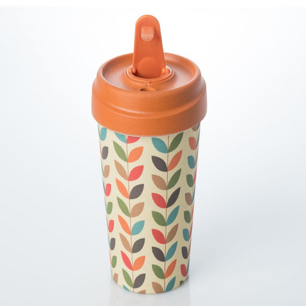 ChicMic Bamboo Travel Mug 400ml - Bright Leaves