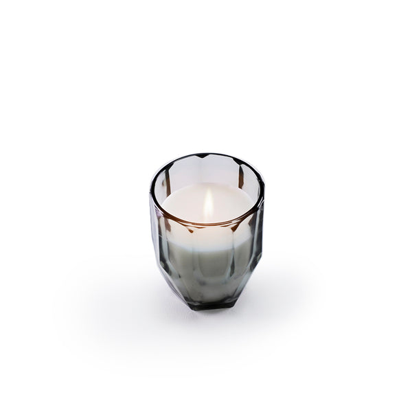 Diamond Glass Candle - French Vanilla