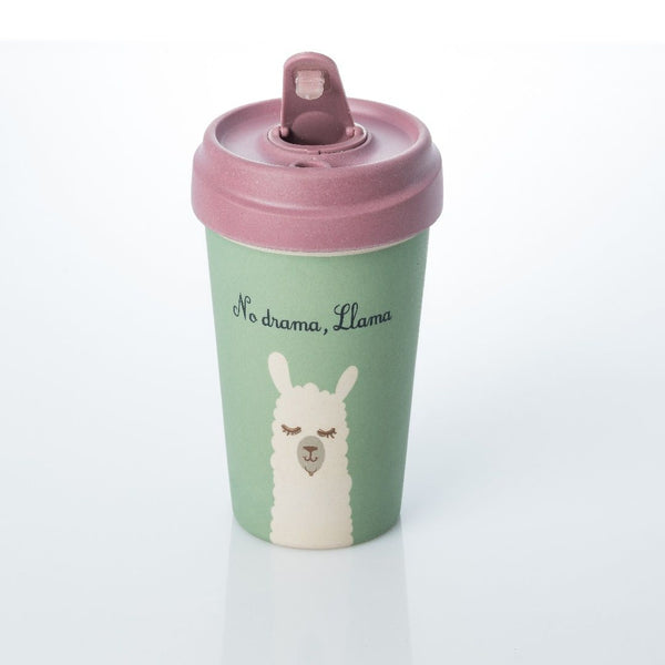 ChicMic Bamboo Travel Mug 400ml - Drama Llama