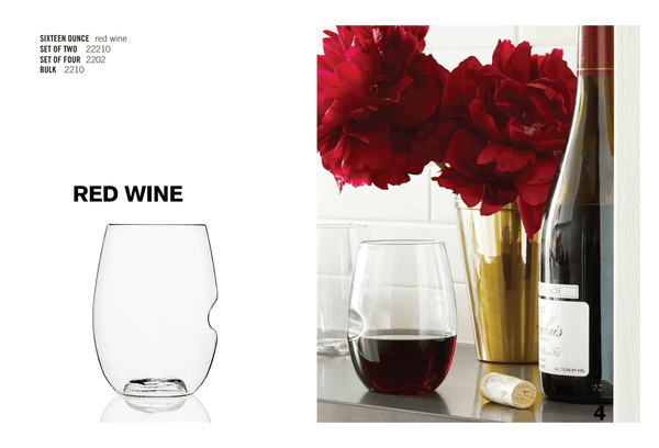 Oz Wine Glass Red - 4 Pack