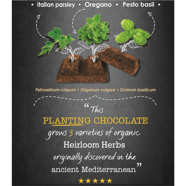 Italian Herbs - Slab Of Seeds