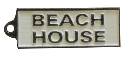 Beach House Keyring