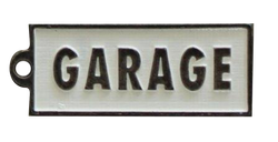 Garage Key Keyring