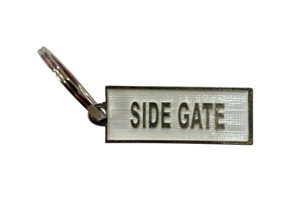 Side Gate Keyring
