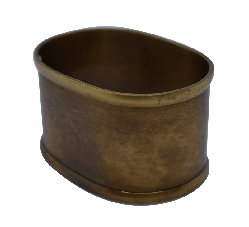 Napkin Ring Oval Brass