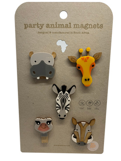 Party Animal Magnets Set