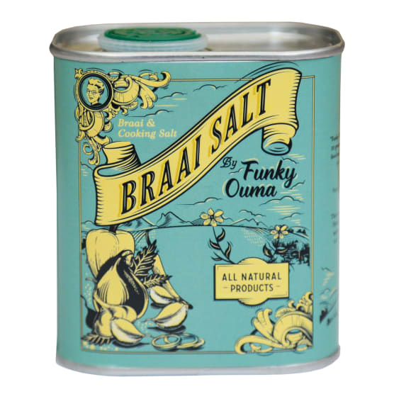 Braai Salt In Tin - 250ml