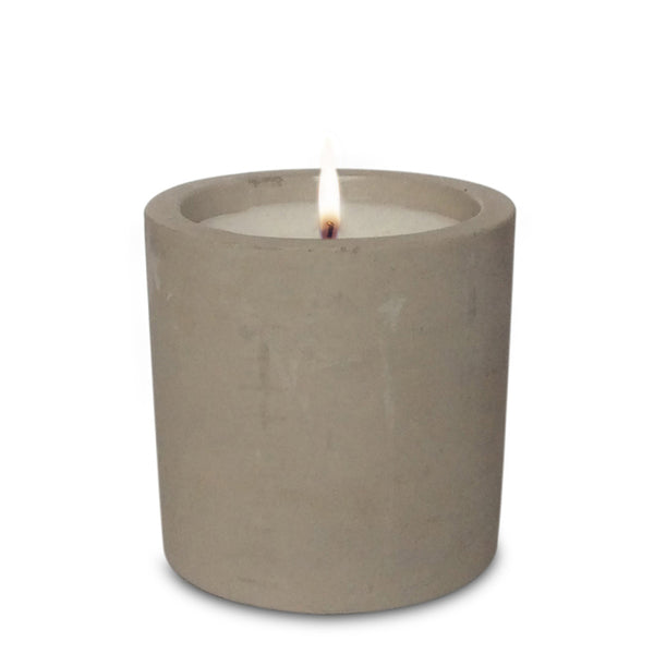 Raw Cement Candle - Flat Lemongrass